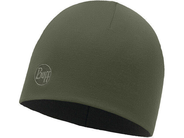 Buff Heavyweight Merino Wool Hat Regular Solid Forest Night